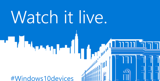 Watch it live. #Windows10devices