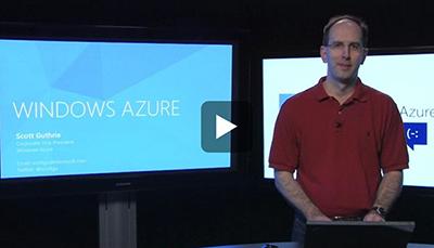 Windows Azure Conf 2012 Video
