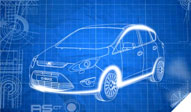 Blueprint of Ford C-MAX
