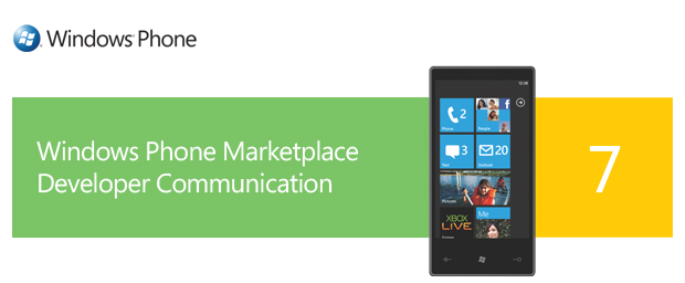 Windows Phone Marketplace Developer Communication