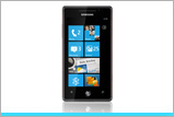 Windows Phone Samsung Omnia 7