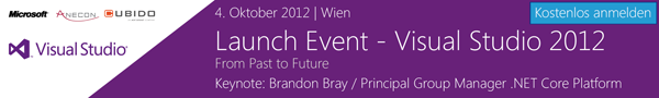 Visual Studio 2012 Launch
