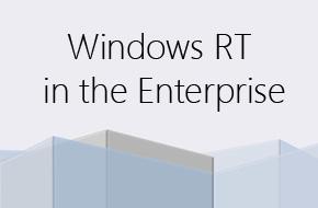 Windows RT für Firmen