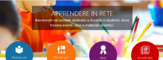 Apprendere in rete, il nuovo portale dell'istruzione