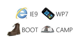 IE9 WP7 Boot Camp