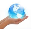 Planet in hands