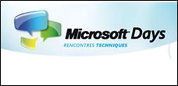 Bientôt les Microsoft Days chez vous – et si vous nous disiez ce qui vous intéresse ?