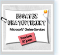 Offres Microsoft Online Services