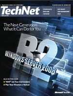 TechNet Magazine Cover
