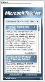 The TechNet Widget