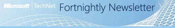 Microsoft TechNet Newsletter