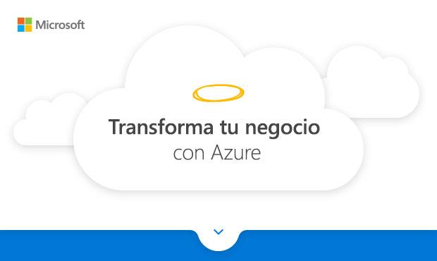 Transforma tu negocio con Azure