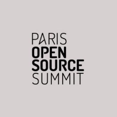 Logo de l'événement Paris Open Source Summit.