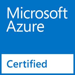 ロゴ: Microsoft Azure Certified