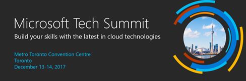 Le Microsoft Tech Summit arrive bientôt!